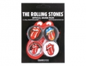 Rolling Stones - Badge Pack (4 Assorted Badges)