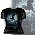 Alchemy Gothic  - Nevermore (Ladies Fitted T-Shirt)