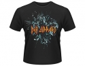 Def Leppard - Logo (Blue  Ladies Fitted T-Shirt)