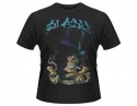 Slash - Smoking Skull (T-Shirt)