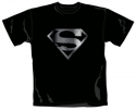 Superman - Silver Foil Logo (T-Shirt)