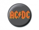 AC/DC - Red Logo (Button Badge)