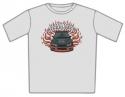 Nickelback - Car Flames (T-Shirt)