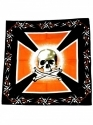 Bandanna - Skull & Bones (Red Black)
