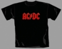 AC/DC - Red Logo (T-Shirt)