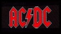 AC/DC - Red Logo (Woven Patch)