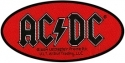 AC/DC - Oval Logo (Woven Patch)