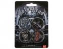 Motorhead - Badge Pack (4 Assorted Badges)
