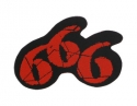 666 - 666 Cut Out (Woven Patch)