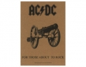 AC/DC- For Those About To Rock Textile Poster