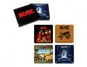 AC/DC - 4 Album Covers Coaster Set