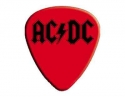 AC/DC - Black Logo Guitar Pick (Red)