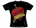 Alice Cooper Schools Out (Ladies Fitted T-Shirt)
