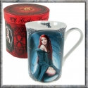 Anne Stokes - Await The Night (Mug)