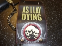 As I Lay Dying - Twin Skull (Chain Wallet)
