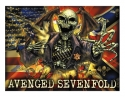 Avenged Sevenfold - Confed Textile Poster