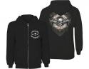 Avenged Sevenfold -  Logo Flourishl (Zip Hoodie)