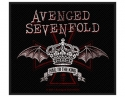 Avenged Sevenfold - Red Crown (Woven Patch)