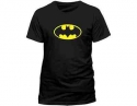 Batman - Classic Logo (Ladies Fitted T-Shirt)