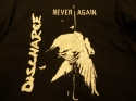 Discharge - Never Again (Vintage T-Shirt)