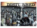 Disturbed - 10000 Fists Textile Poster