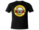 Guns N Roses- Classic Logo (Ladies Fitted T-Shirt)