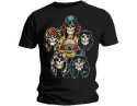 Guns N Roses - Heads Vintage  (T-Shirt)