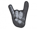 Horns Salute - Shaped Cut Out Patch