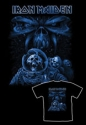 Iron Maiden - Blue Album Spaceman (T-Shirt)