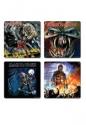 Iron Maiden -  4 Different Album Covers Coaster Set