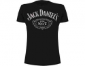 Jack Daniels - Cartouche Distress  (T-Shirt)