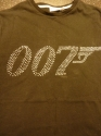 James Bond - 007 Logo (Ladies Fitted T-Shirt)