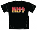 Kiss Vintage Logo (Ladies Fitted T-Shirt)