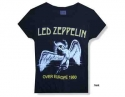 Led Zeppelin - Over Europe  (Lady Fit T-Shirt)