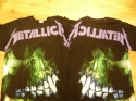 Metallica - Skull With Back Print (T-Shirt)