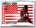 Motley Crue - Red & White (Greeting Card)