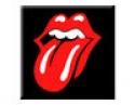 "Rolling Stones - Classic ""T"" (Lge Magnet)"