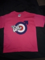 The Who - Log & Target (Ladies Pink Fitted T-Shirt)