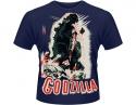 Vintage Horror - Godzilla (Poster T-Shirt)