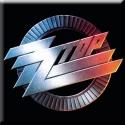 ZZ Top - Logo (Lge Magnet)